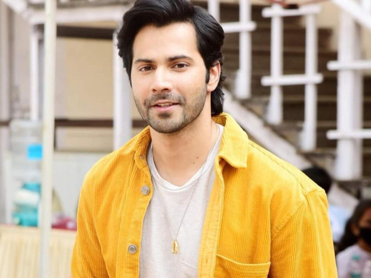 Varun Dhawan looks splendid in yellow: See Photo   Hindi Movie News - Times  of India