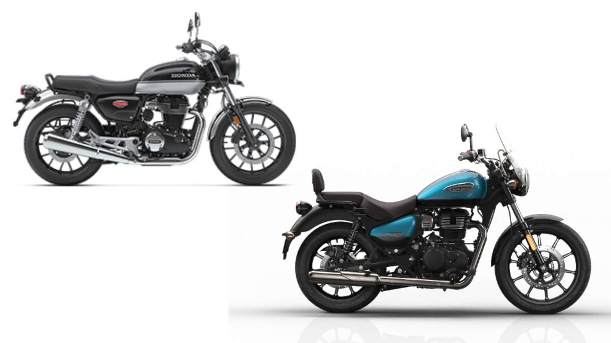 Royal Enfield Meteor 350 Royal Enfield Meteor 350 Vs Honda H Ness Cb350 Two To Tango Times Of India
