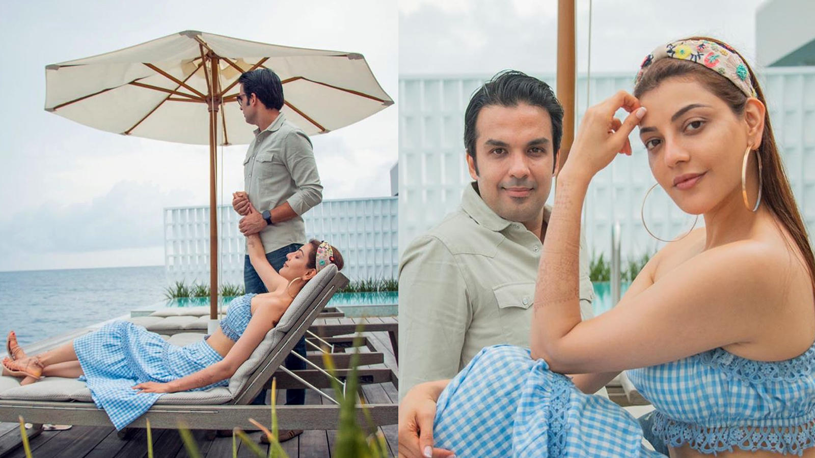 Kajal Agarwal and Gautam Kichlu's honeymoon pictures from Maldives are just like a dream! | Hindi Movie News - Bollywood - Times of India