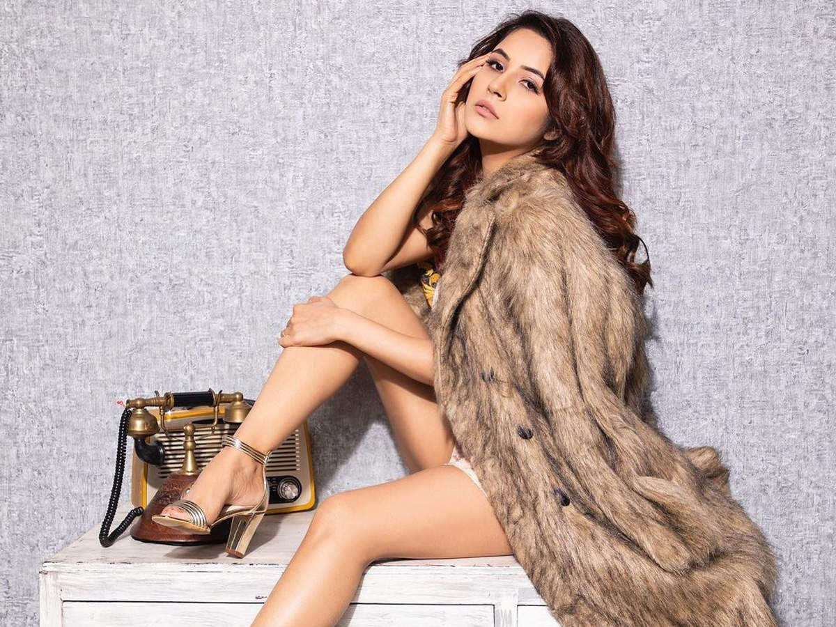 After losing 12 kgs; Bigg Boss 13 fame Shehnaz Gill raises the mercury level with her latest bold photoshoot - Times of India