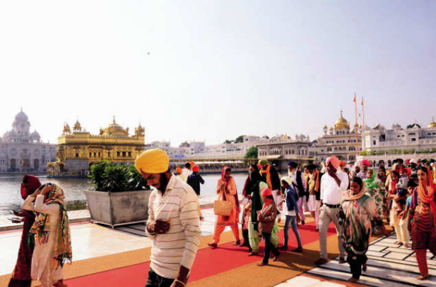 The Jathedar of Akal Takht raised