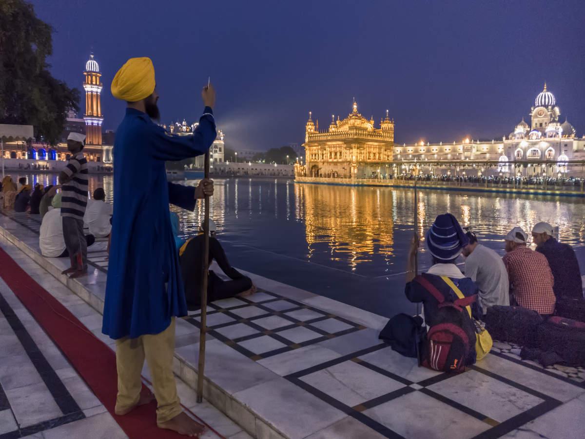 Historic wall surrounding Amritsar's Golden Temple struggling for survival