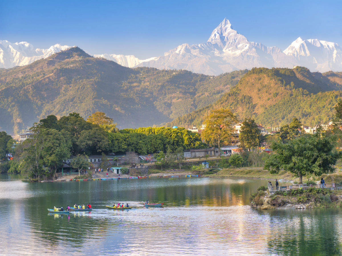 Exploring Pokhara, the tourist centre of Nepal