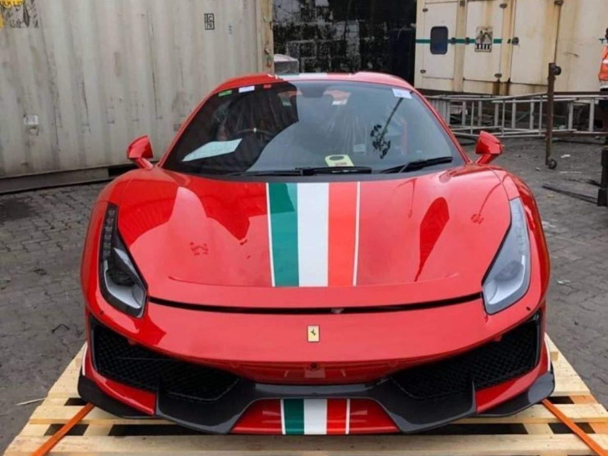 Yohan Poonawalla Gets A Custom Built Ferrari 488 Pista Spider