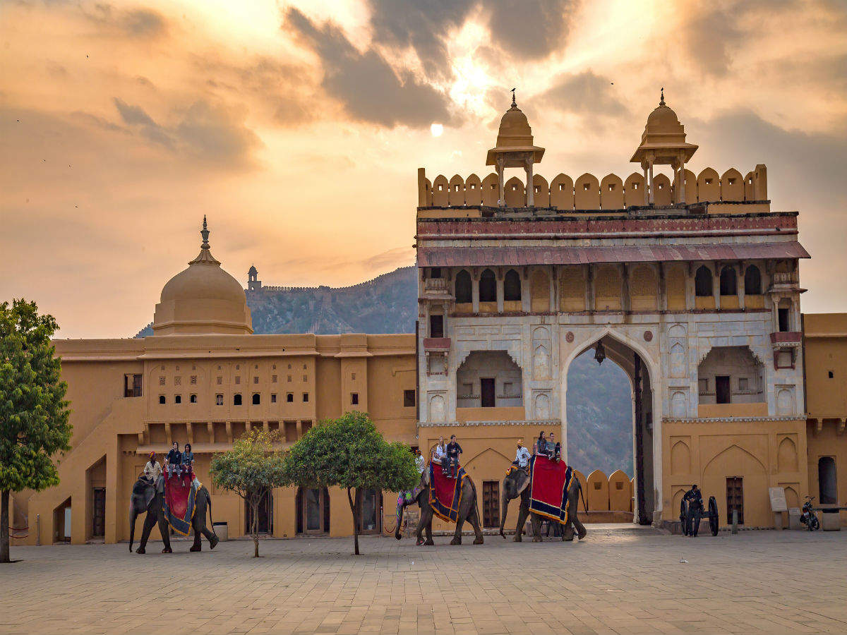 COVID-19: Elephant rides in Jaipur's Amer Fort and Hathi Gaon resume after 9 months