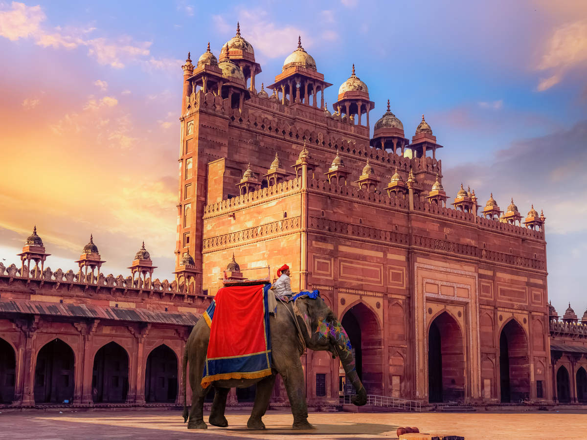 A virtual tour of Fatehpur Sikri–the alter ego of Agra