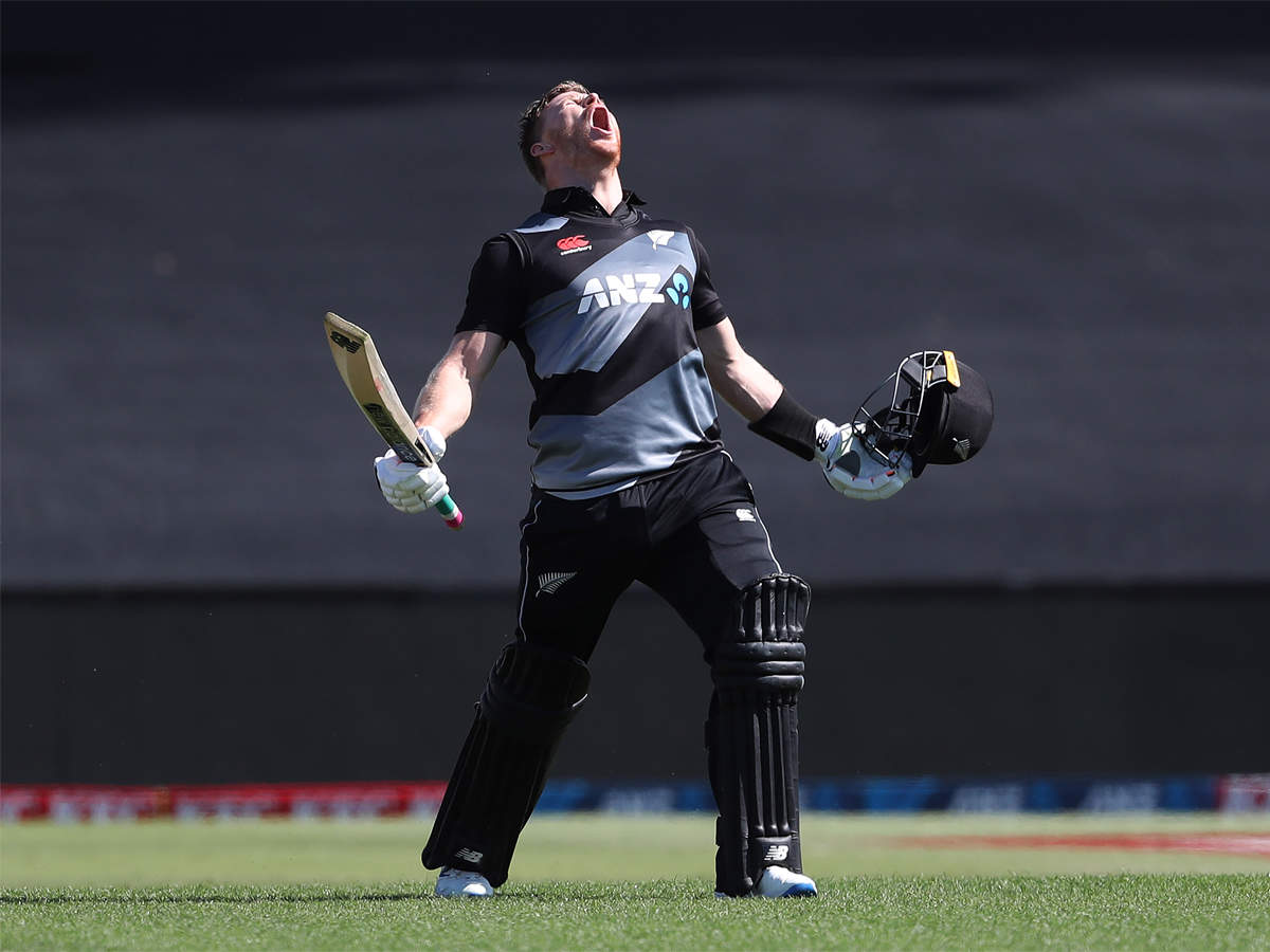 glenn phillips: Glenn Phillips hits fastest T20I ton for New Zealand as hosts bag series against West Indies | Cricket News - Times of India