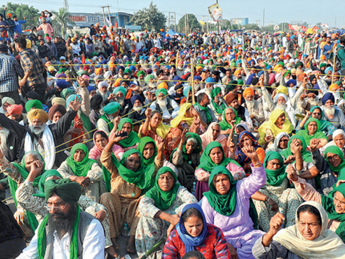 Farmers Protest Delhi: Our way or the highway; Farmers say they're ready to camp through winter | Delhi News - Times of India