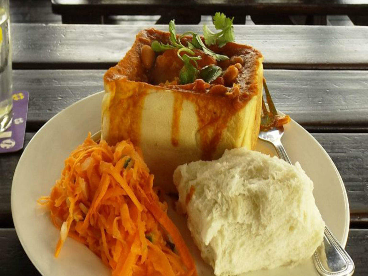 The Bunny Chow—an Indian dish that went on to become South Africa's favourite street food
