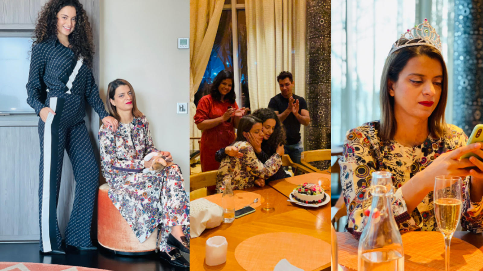 kangana-ranaut-shares-unseen-pictures-from-sister-rangoli-chandels-birthday-celebrations
