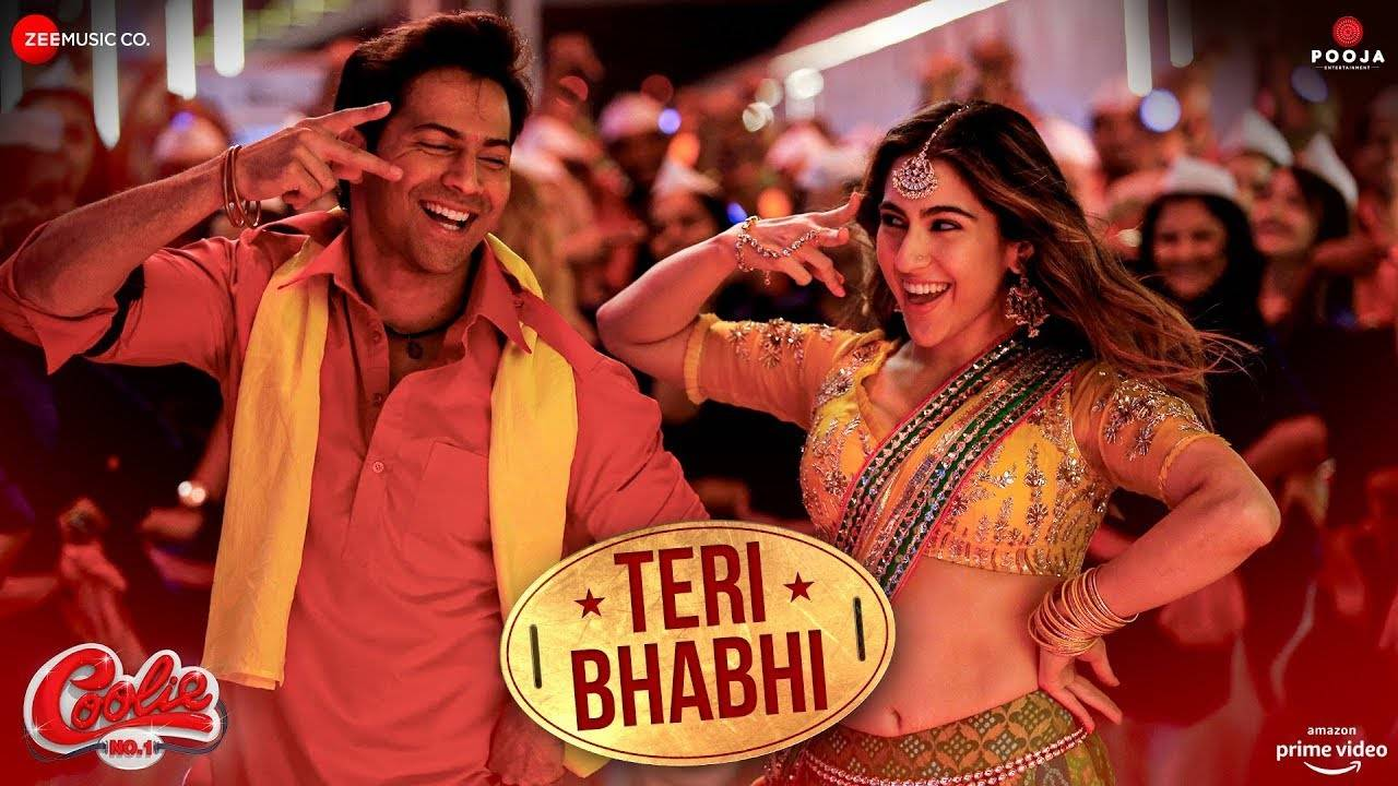 varun-dhawan-and-sara-ali-khans-new-song-teri-bhabhi-from-coolie-no-1-will-get-you-grooving