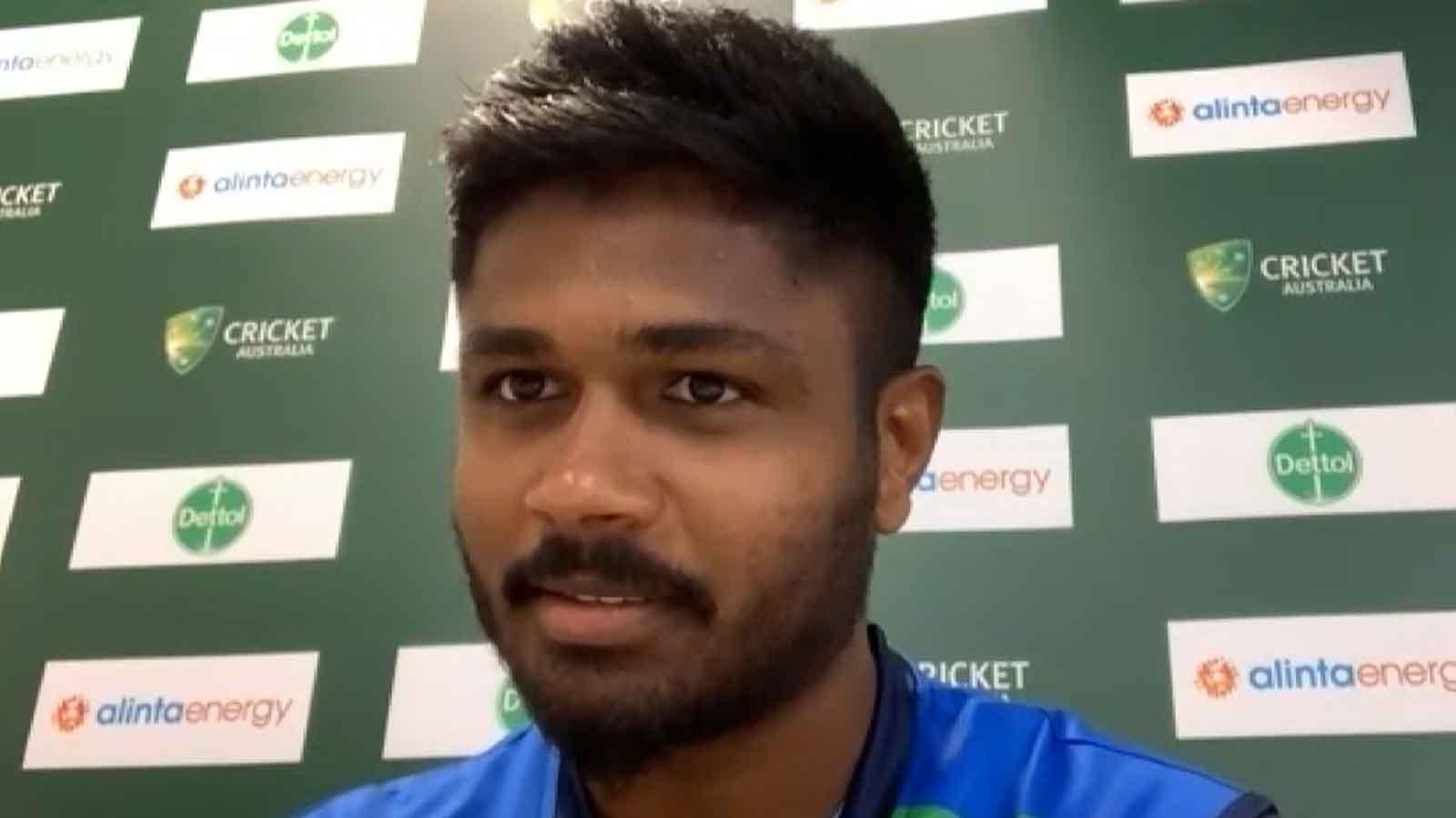 india-vs-australia-1st-t20i-sanju-samson-hails-yuzvendra-chahal-for-his-3-wicket-haul