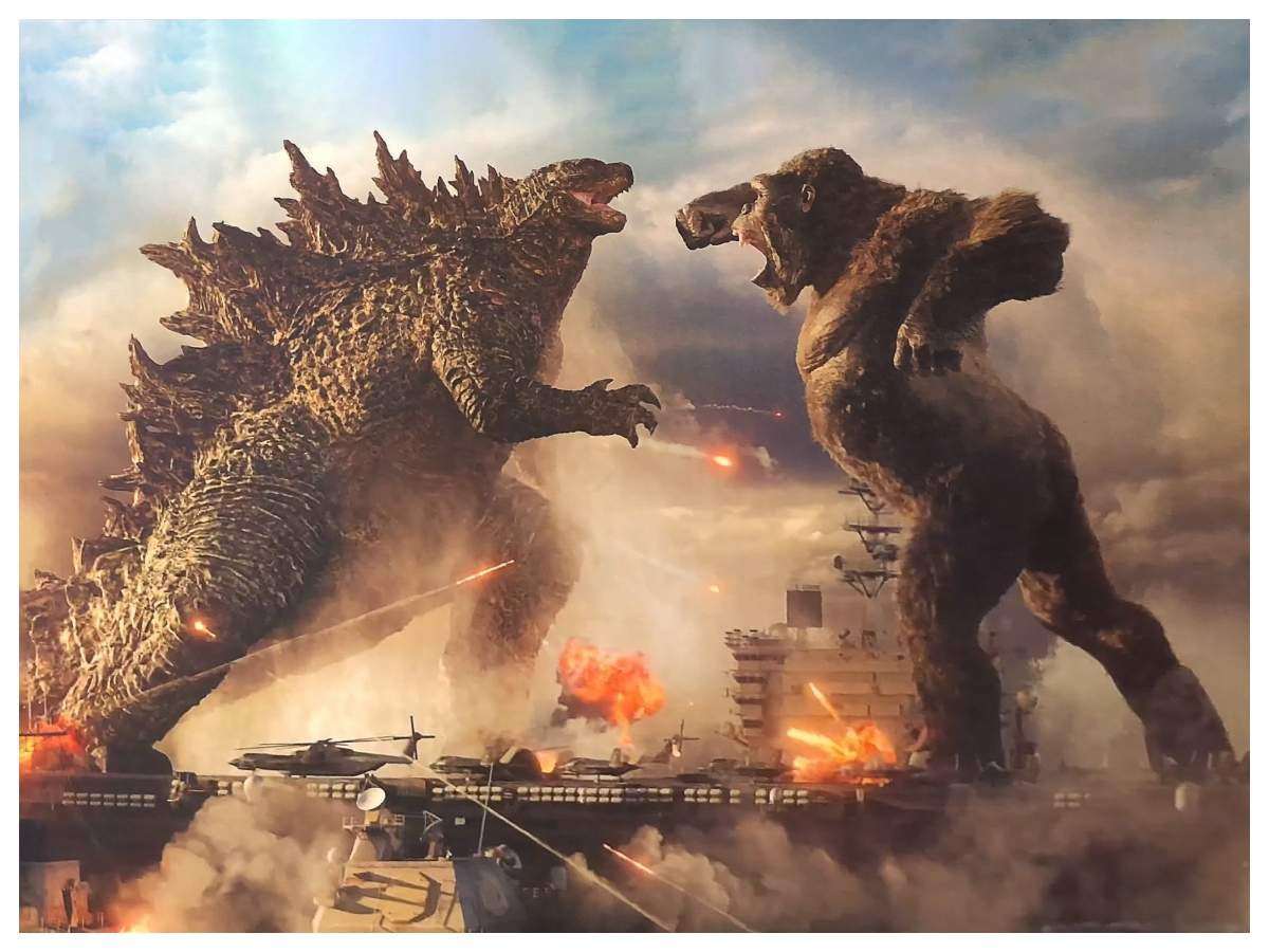 WATCH: 'Godzilla vs Kong' first footage leaked online; fans predict an  upcoming trailer launch | English Movie News - Times of India
