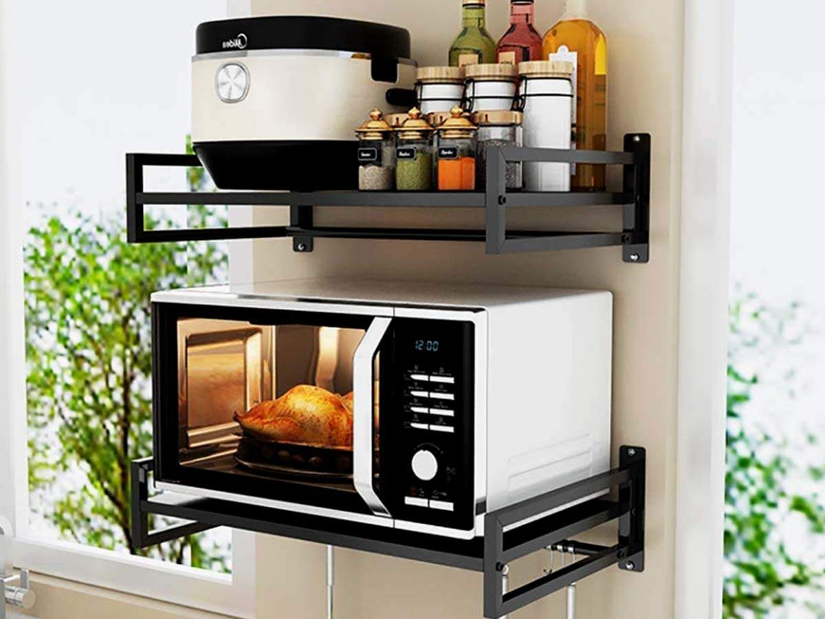 Microwave stands that will help you streamline your kitchen storage | Most Searched Products - Times of India