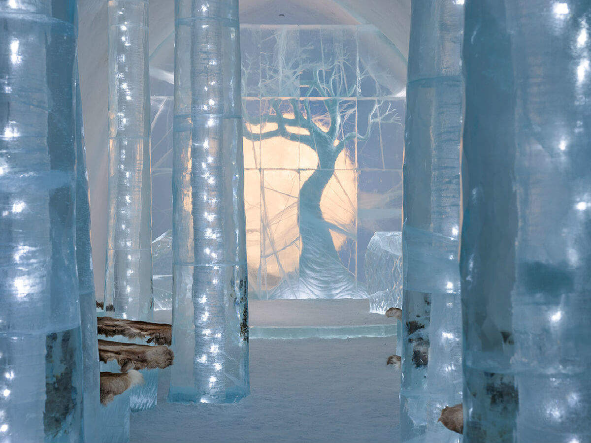 A peek into Sweden's incredible Icehotel