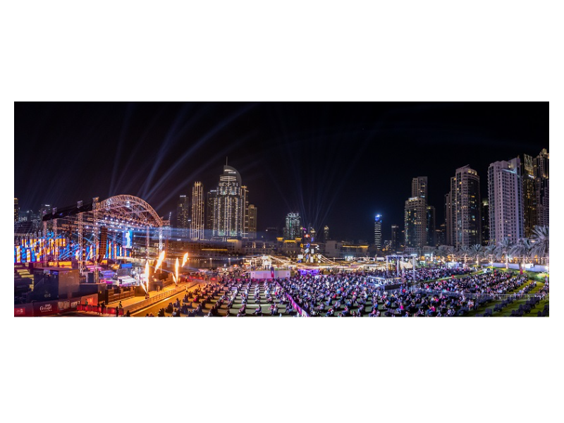 The 26th Edition Of The Dubai Shopping Festival Opens Amidst Great Fanfare