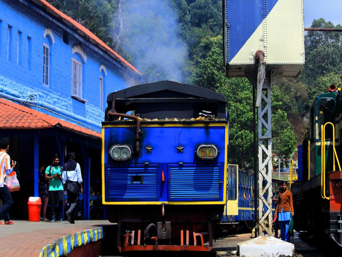 Nilgiri Mountain Railway resumes train operations between Mettupalayam and Ooty