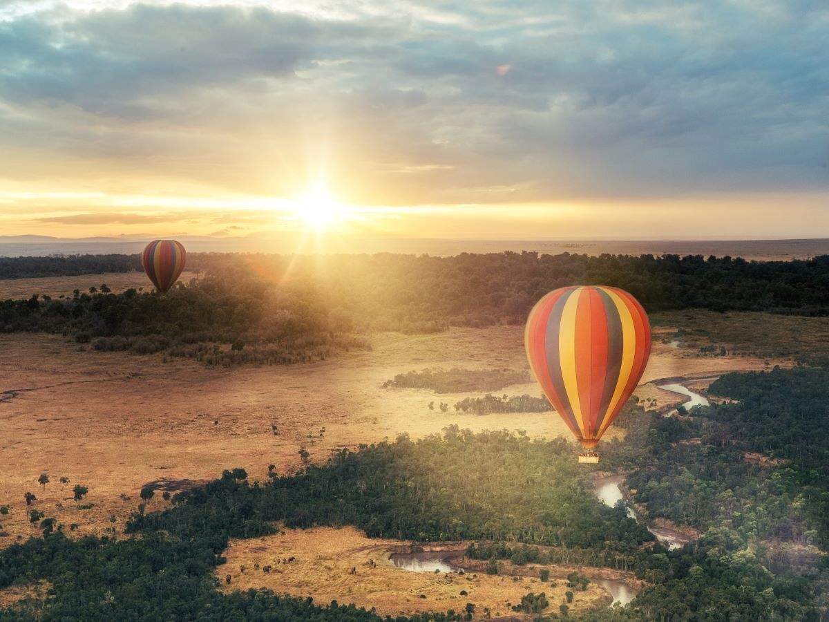 Madhya Pradesh launches country's first-ever tiger reserve hot air balloon safari