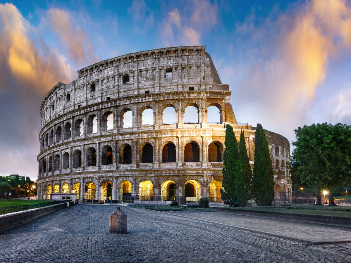 The Colosseum's floor to get reconstructed