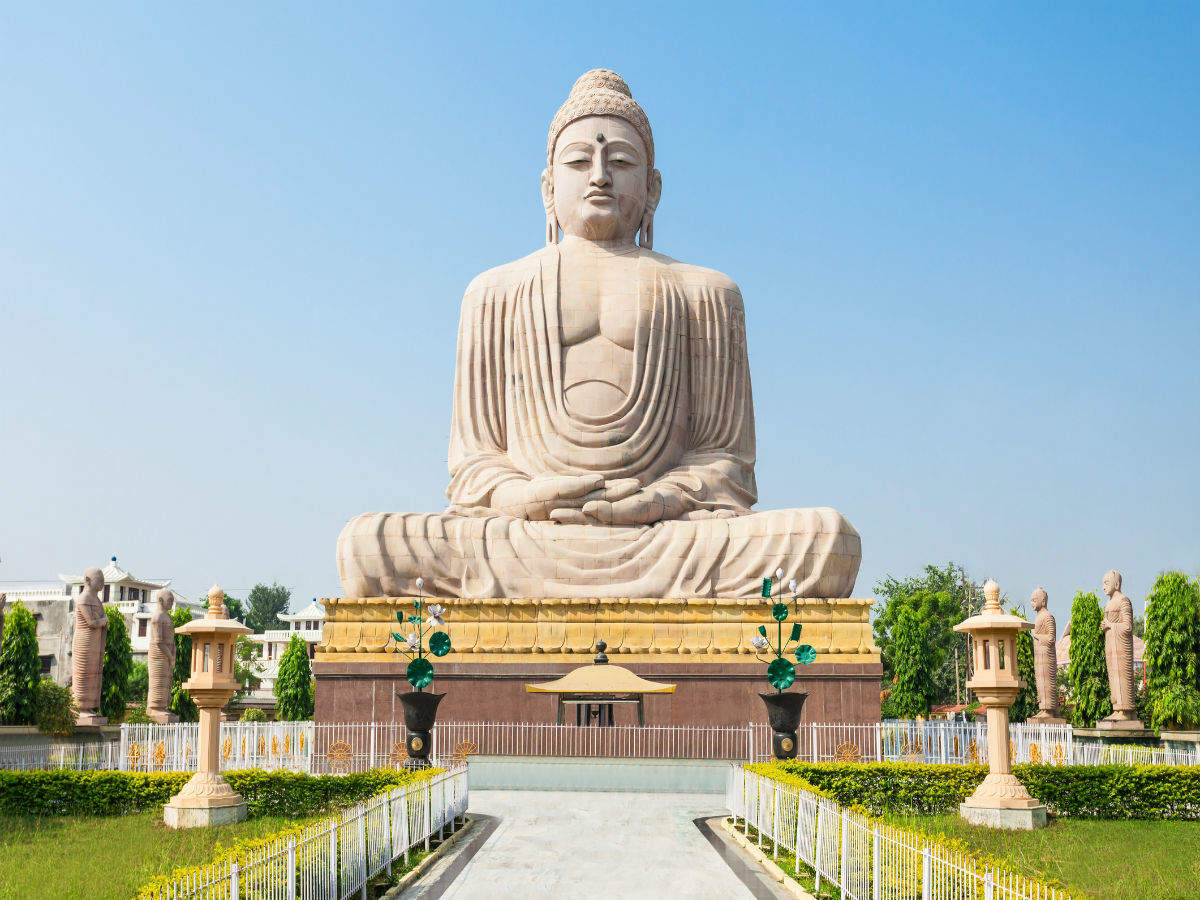 A trip to some famous Buddha temples in India