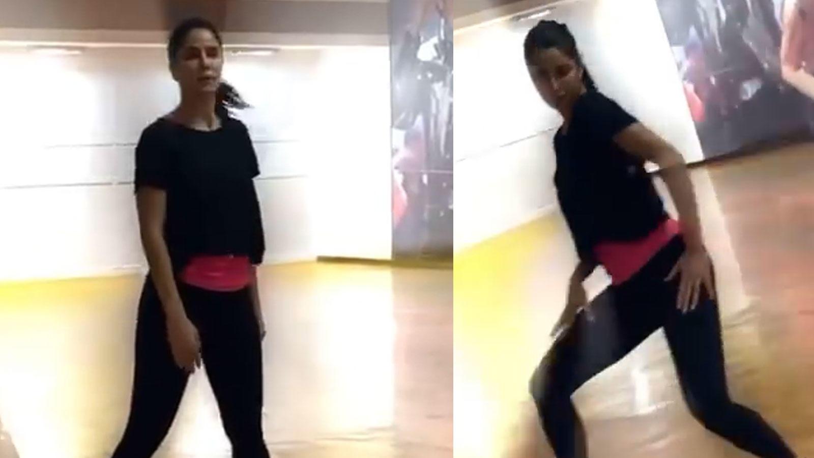 katrina-kaif-flaunts-her-dance-moves-in-a-new-video-ishaan-khattter-calls-it-panjiri-power