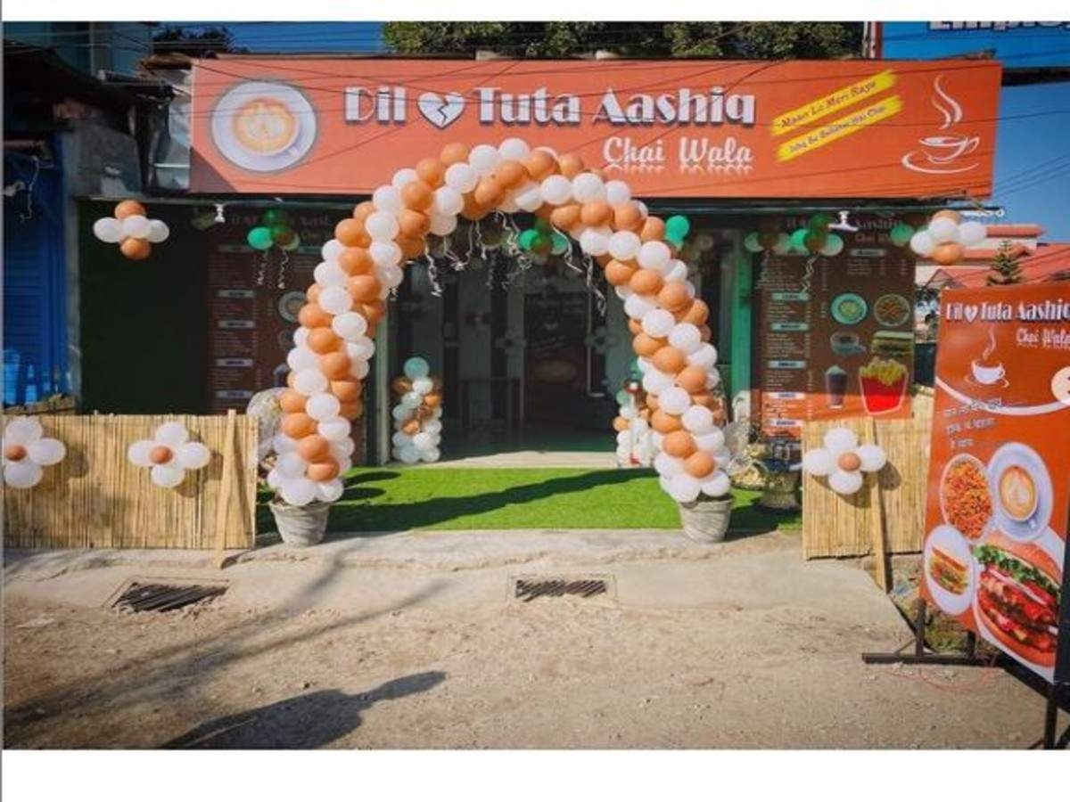 Dehradun's latest attraction: Doon boy opens 'Dil Tuta Aashiq' chai point after suffering from a heartbreak