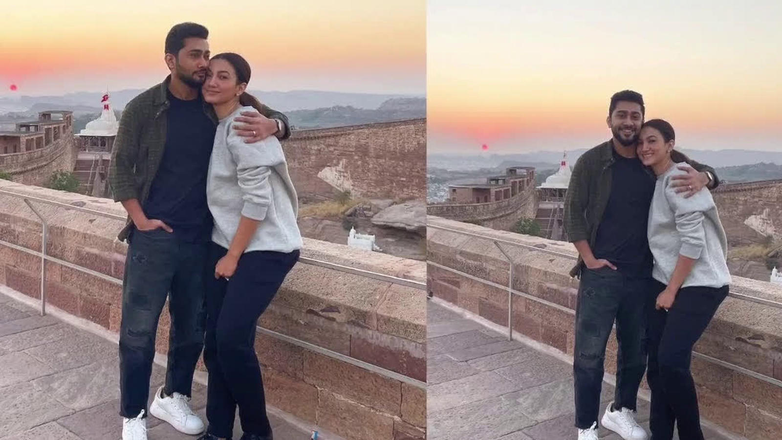 gauahar-khan-hubby-zaid-darbar-return-to-mumbai-after-spending-quality-time-together-in-udaipur