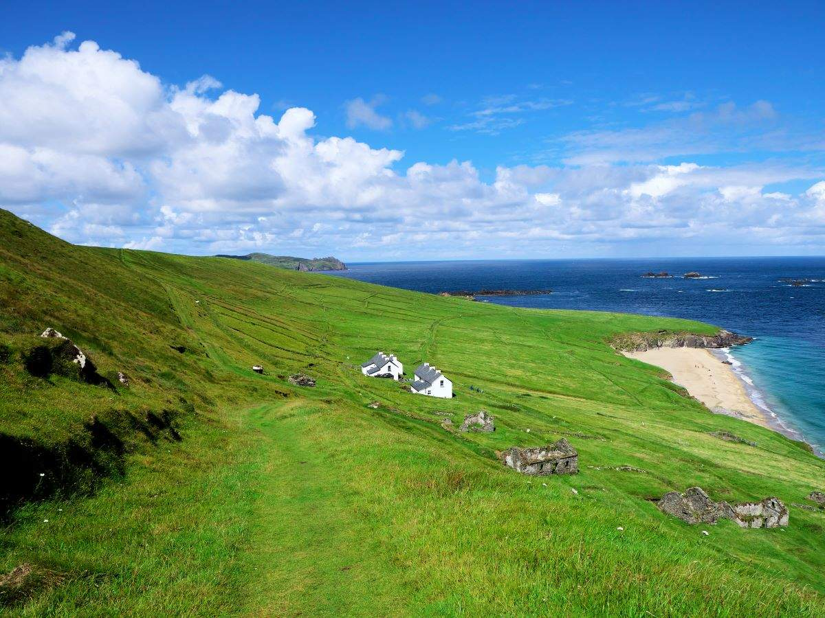 This remote Irish island is hiring people to run guest cottages and a coffee shop