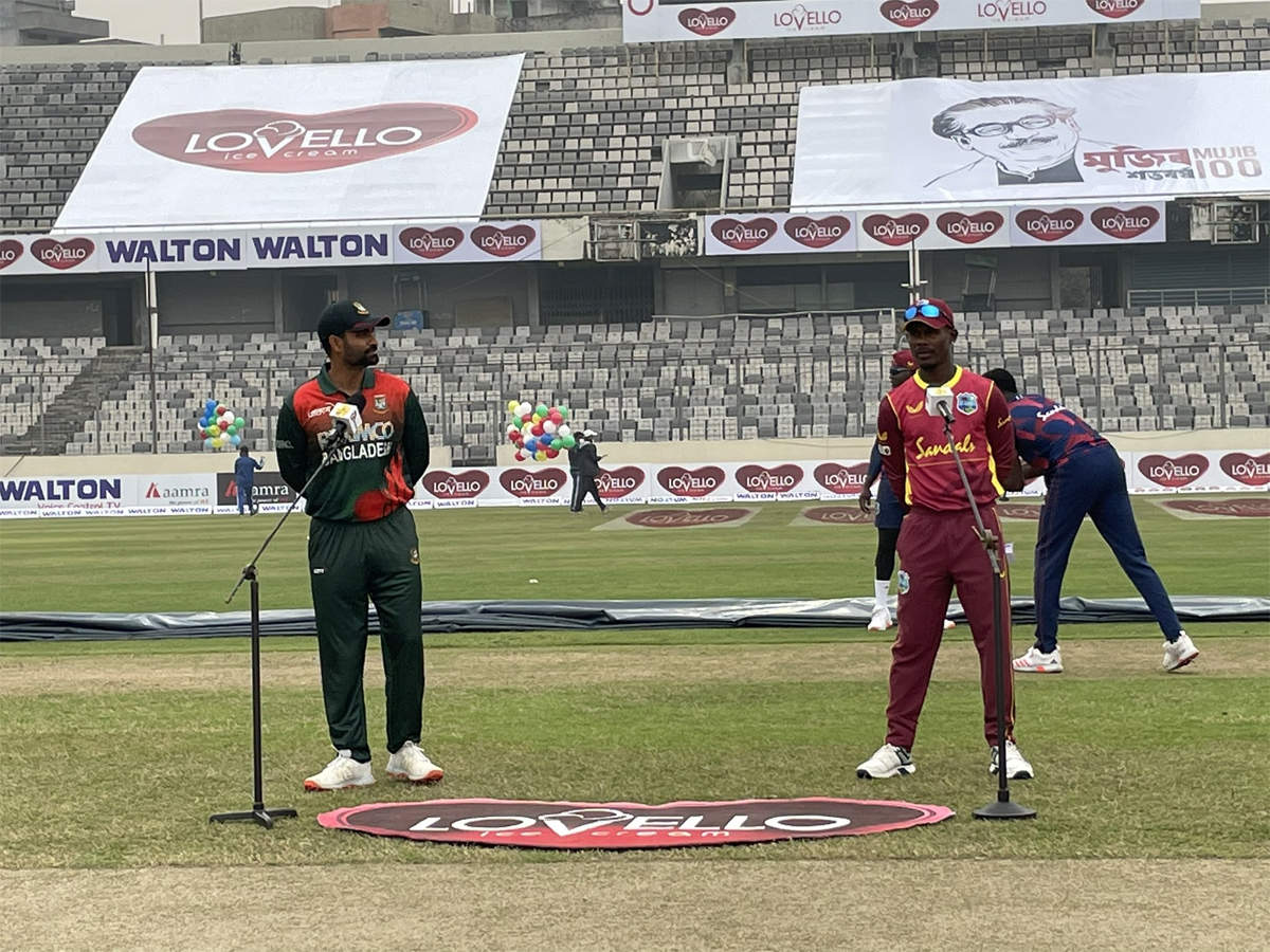 Live Blog: Bangladesh vs West Indies, 2nd ODI