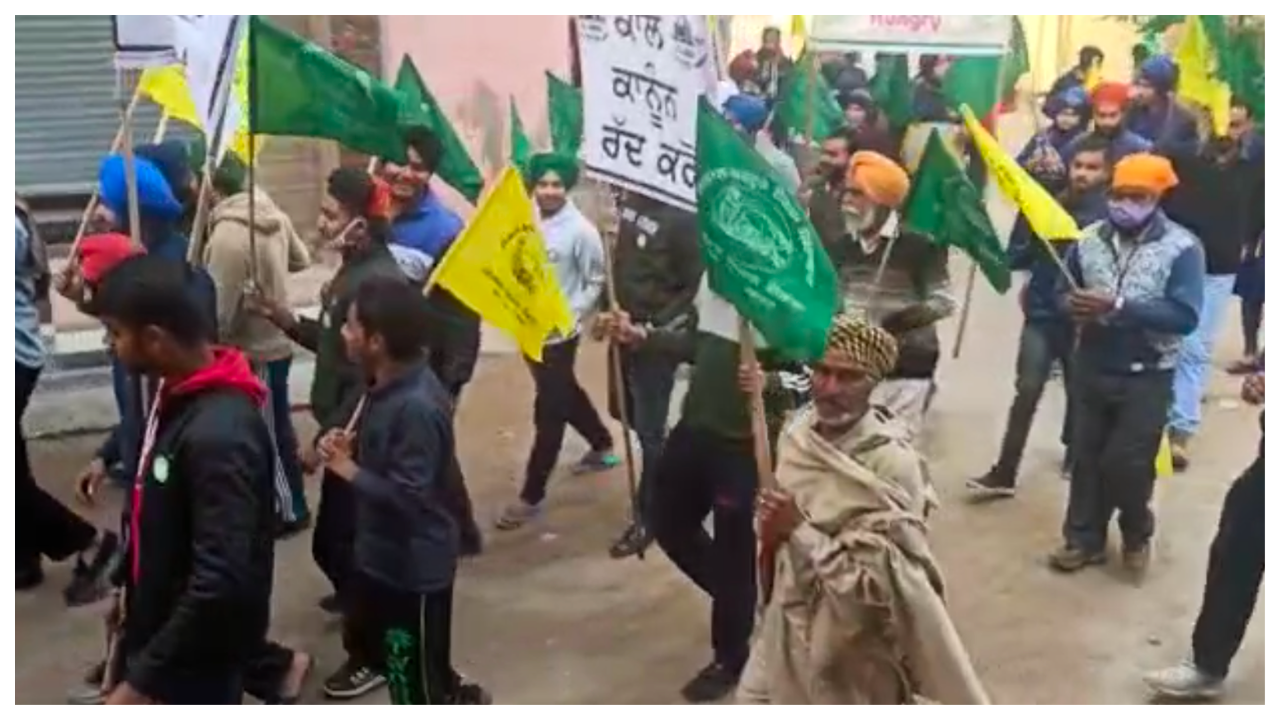 punjab-peaceful-march-to-support-farmers-protest-held-near-chandigarh