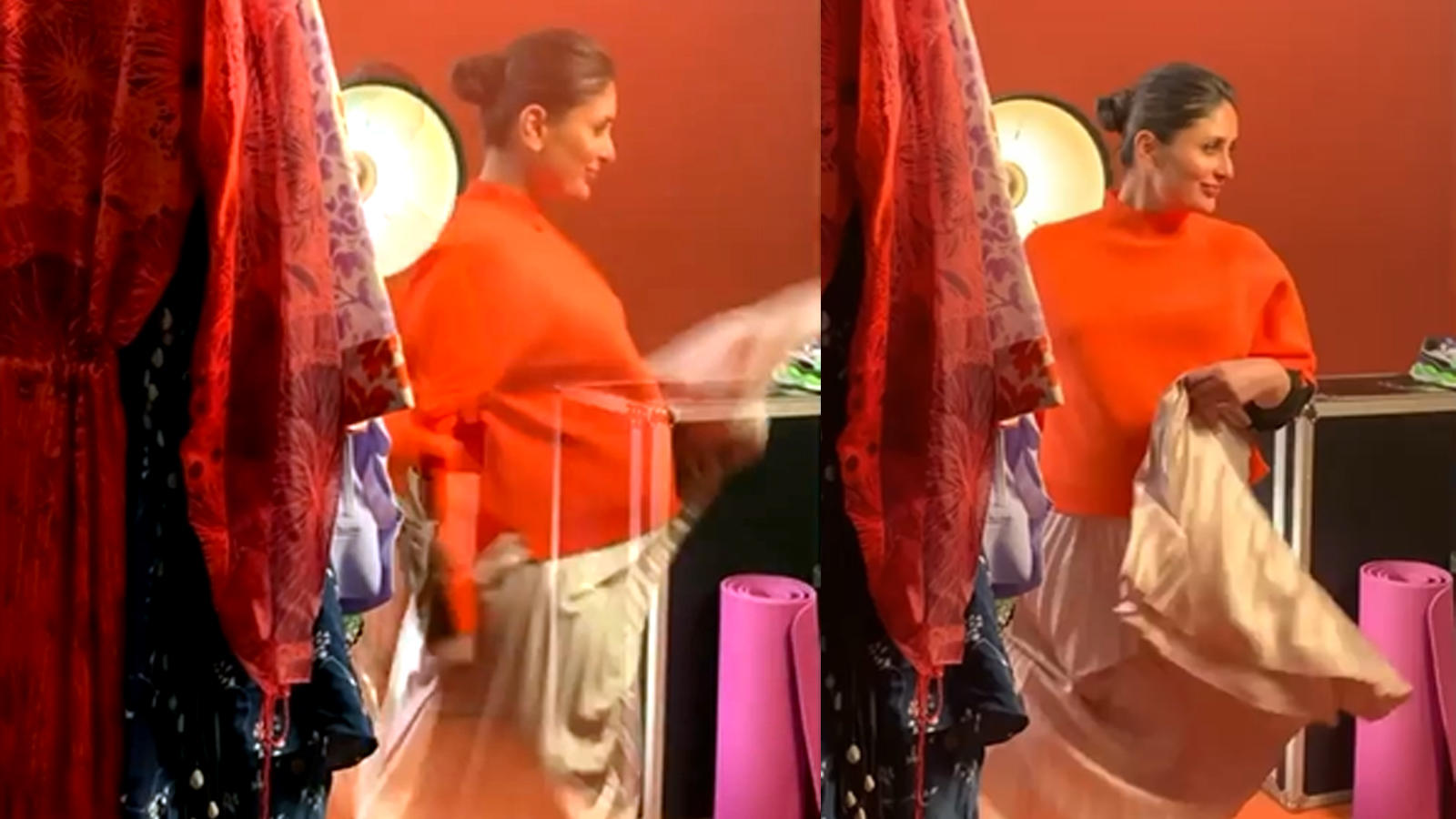 This video of mom-to-be Kareena Kapoor twirling will bring a smile to your face | Hindi Movie News - Bollywood - Times of India