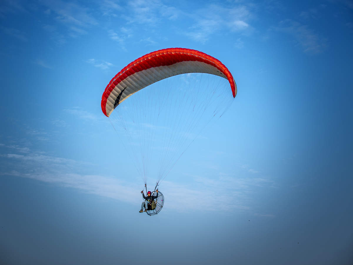 Morni Hills in Haryana may soon become India's next paragliding destination