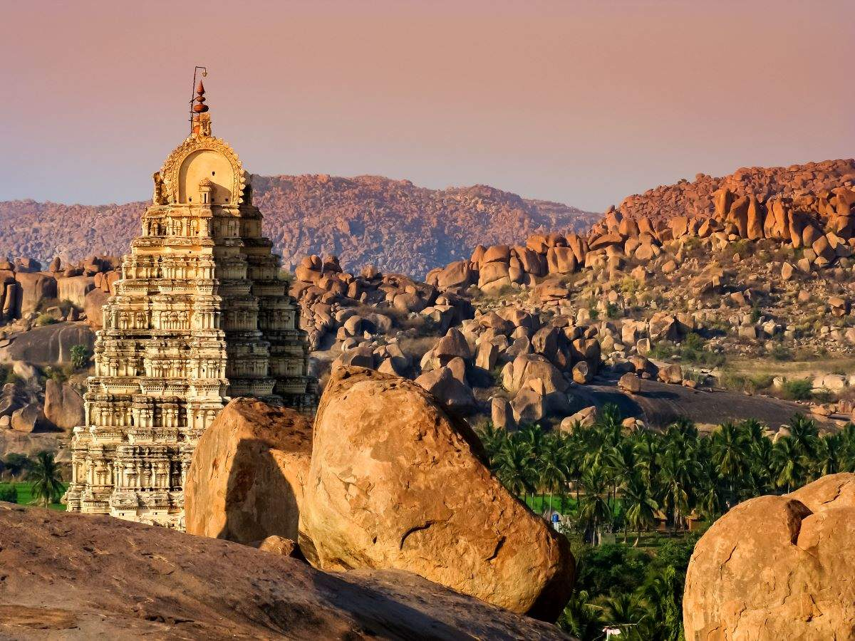 Hampi's most attractive temples for a soulful vacation