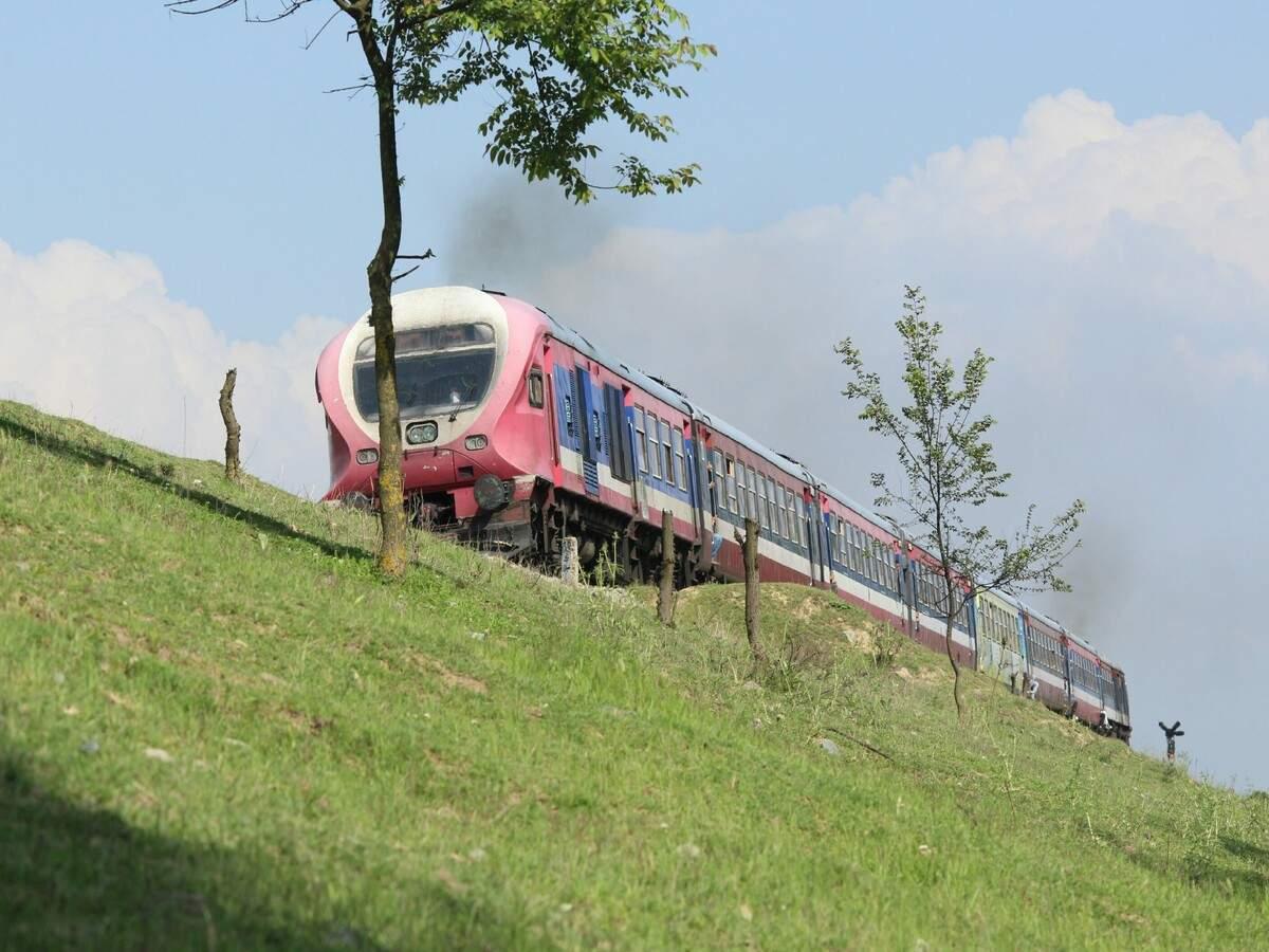 Train services restart in Kashmir after 11 months