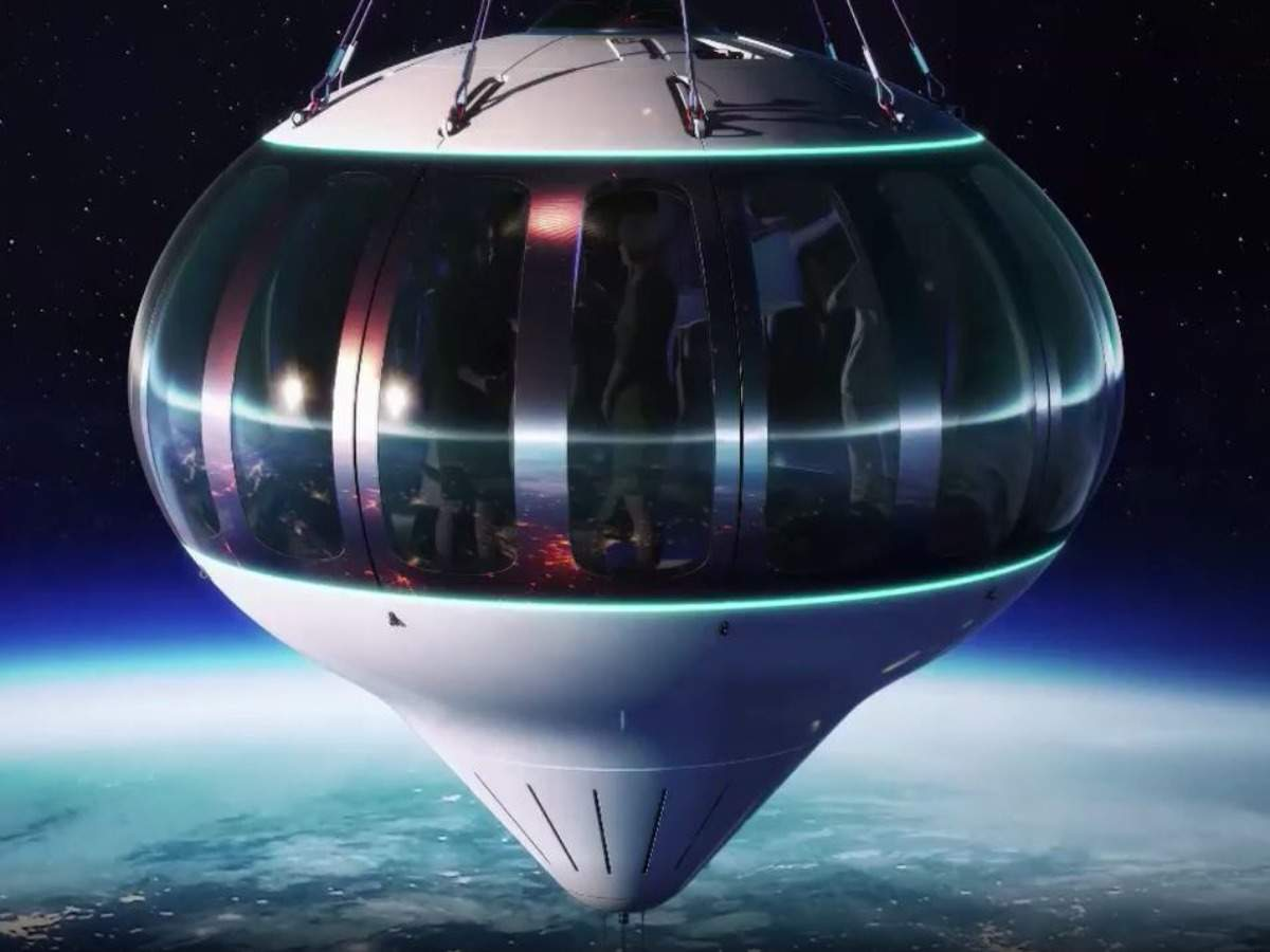 Fly to the edge of space in a balloon in near future