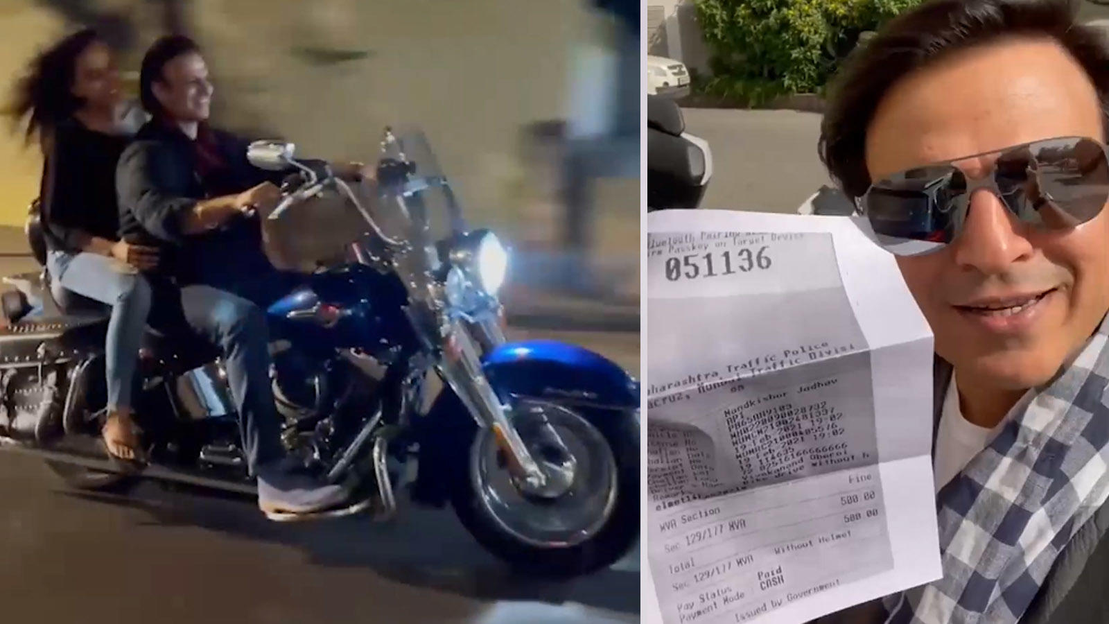 pawri-nahi-ho-rahi-hai-vivek-oberoi-gives-a-twist-to-the-meme-after-paying-rs-500-fine-flashes-challan-in-latest-video