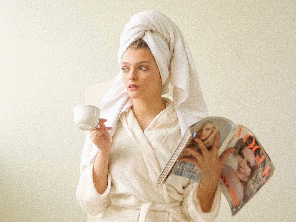 Plush bathrobes for women for a luxurious after-bath experience   Most  Searched Products - Times of India