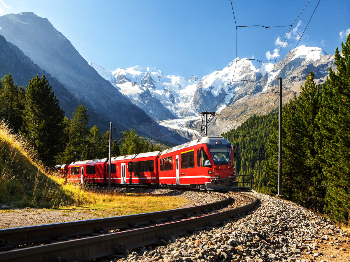 The best train rides to take in Switzerland