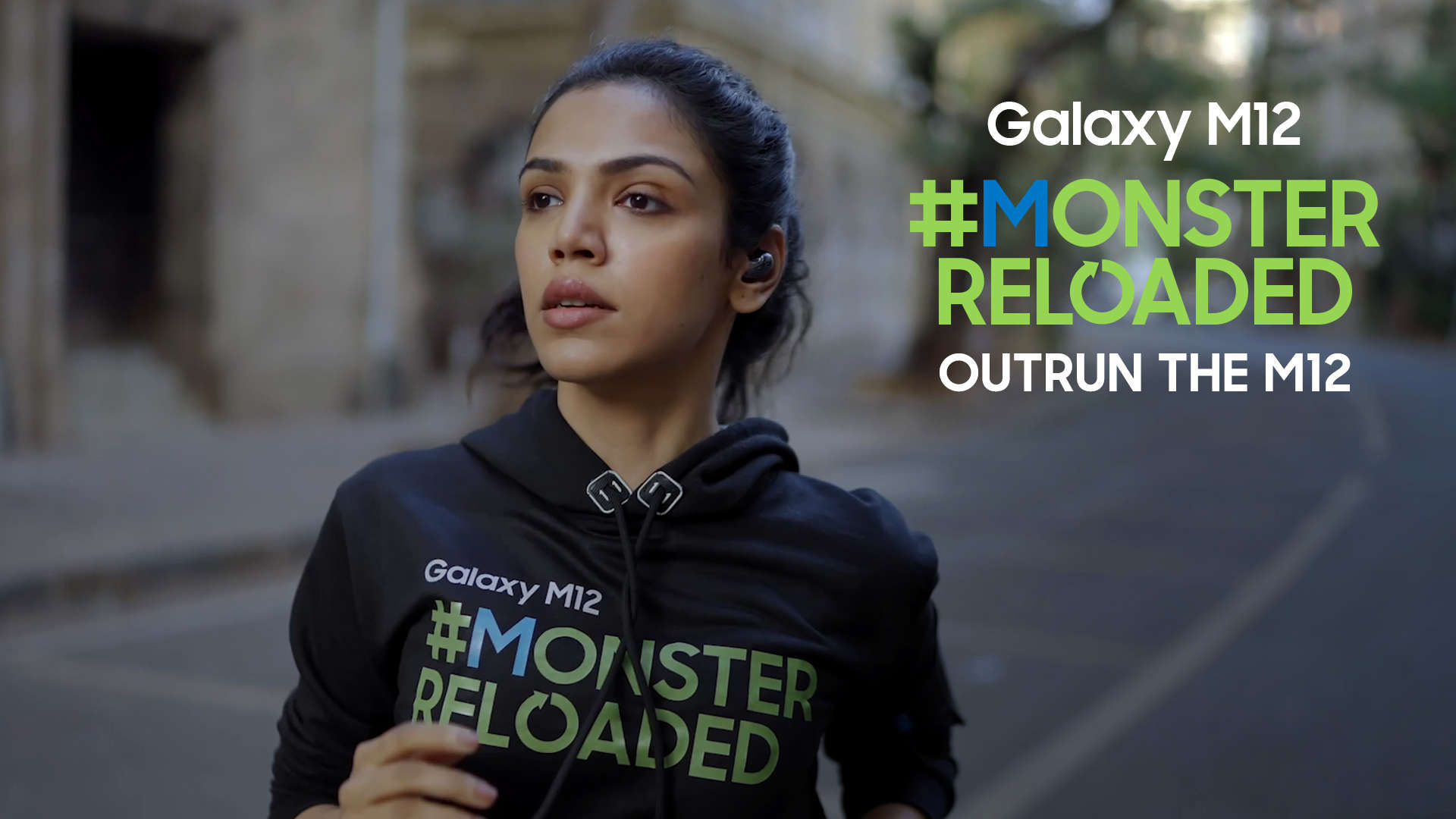 samsung-galaxy-m12-shriya-pilgaonkar-tries-hard-for-the-monsterreloaded-challenge