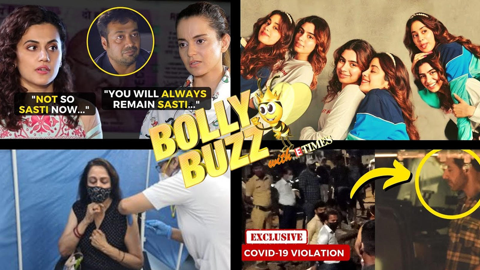 bolly-buzz-taapsee-vs-kangana-on-it-raids-ek-villain-returns-shoot-stopped-khushi-wishes-janhvi