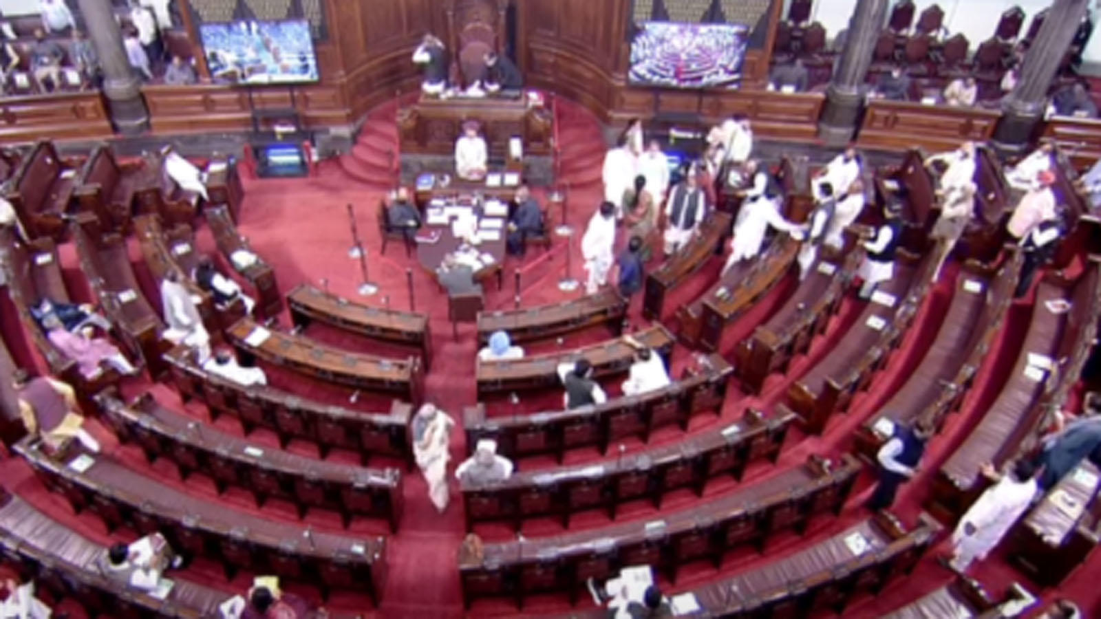 opposition-creates-ruckus-in-rajya-sabha-over-fuel-price-rise