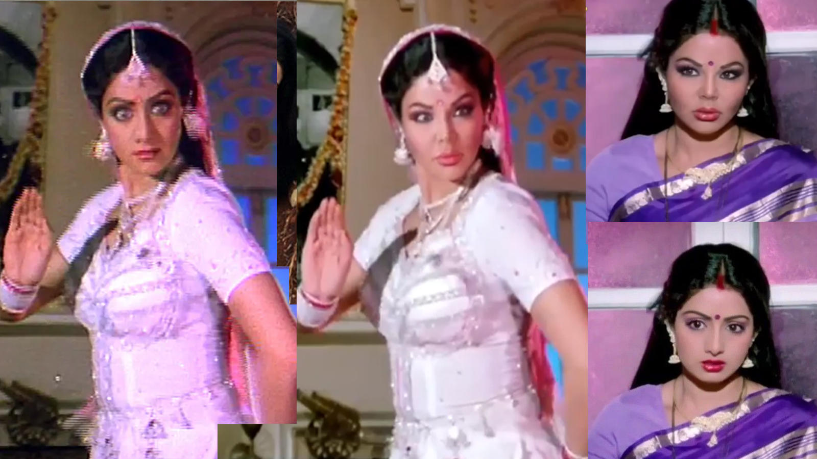 Watch: Rakhi Sawant deepfakes a video of Sridevi from 'Naagin' and fans are  showering all their love on her   Hindi Movie News - Bollywood - Times of  India