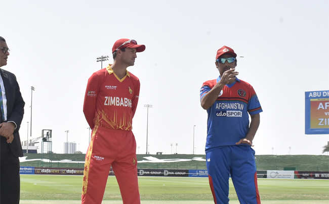 Afghanistan 75/2 in 10.3 Overs | Live cricket score: Afghanistan vs Zimbabwe, 3rd T20I – The Times of India