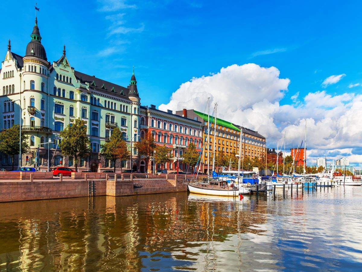 Finland ranked 'happiest country in the world' for fourth year in a row