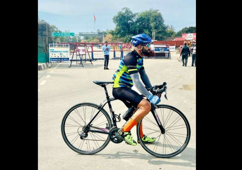 This Kashmiri cyclist created a world record by cycling from Kashmir to Kanyakumari in just 8 days!