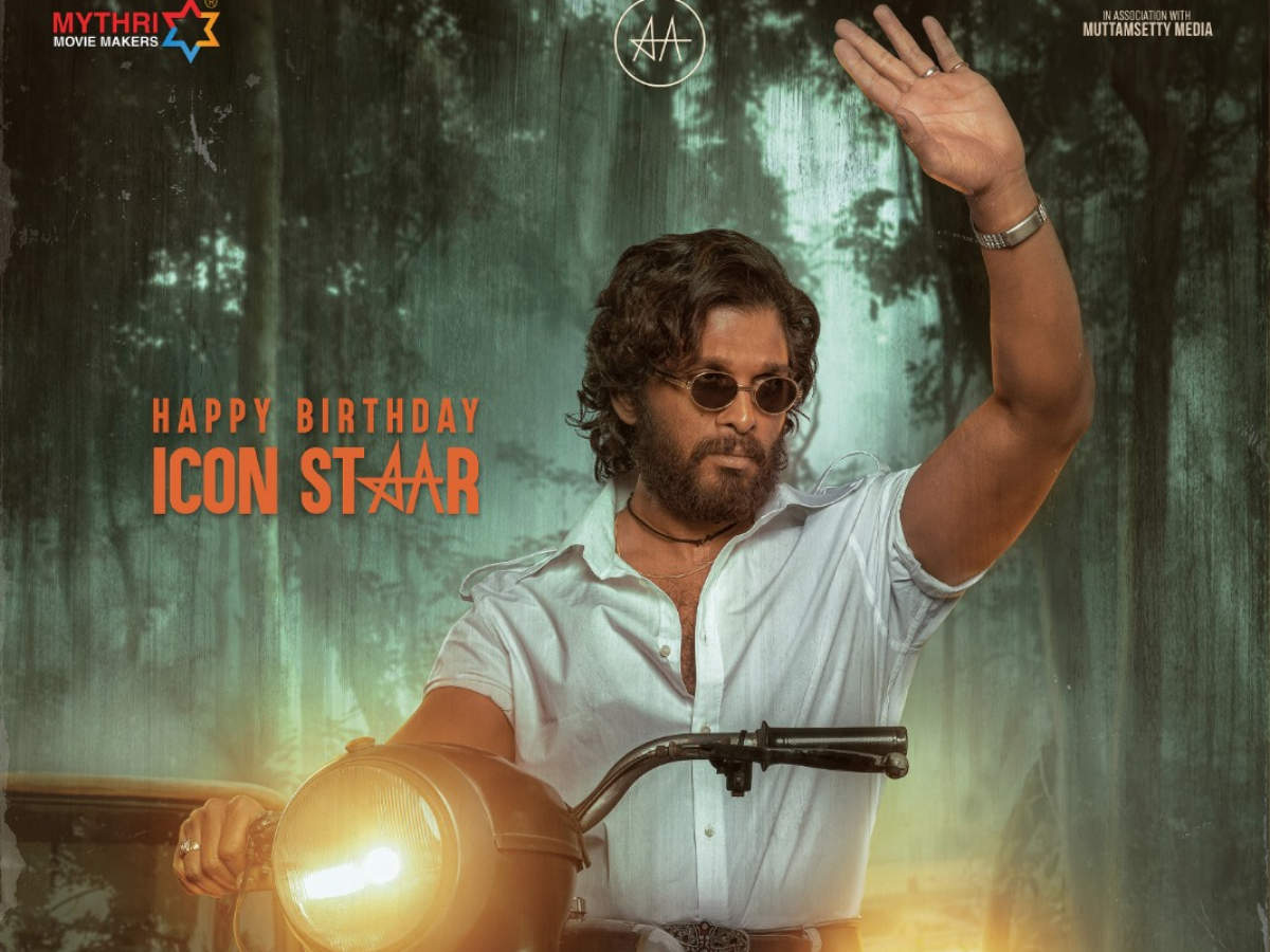 Team ''Pushpa'' releases a special poster on Allu Arjun's birthday ...