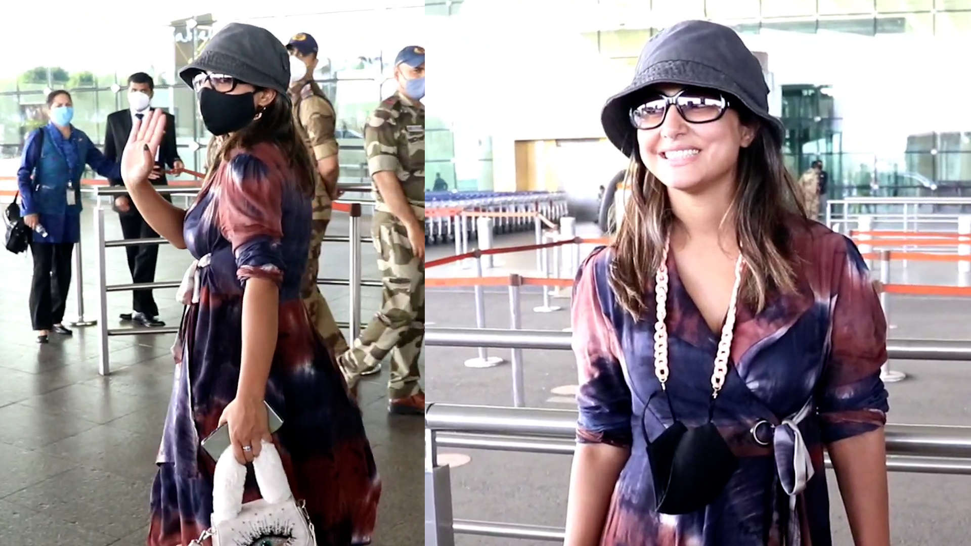 Airport spotting: Hina Khan sports a chic look | TV - Times of India Videos