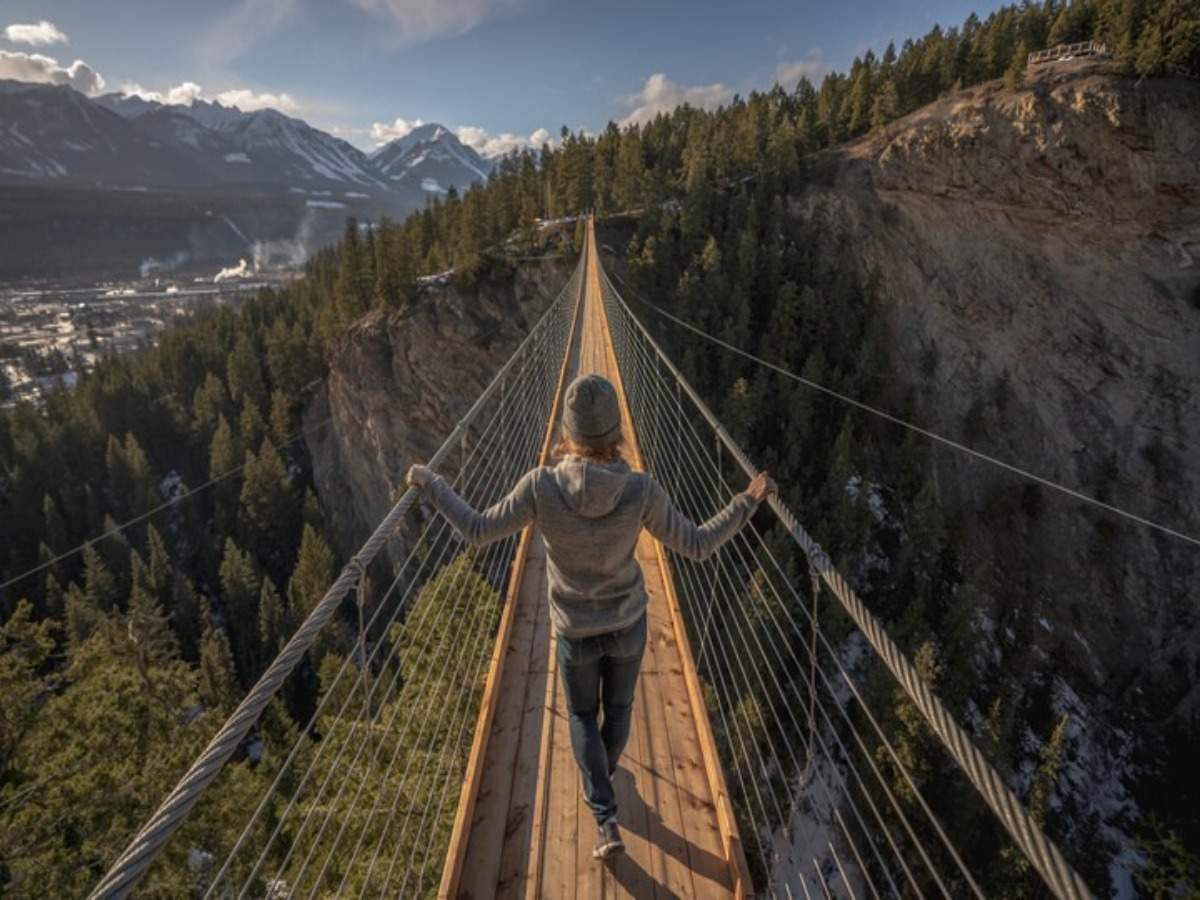 Experience Canada with the help of stunning suspension bridges this May