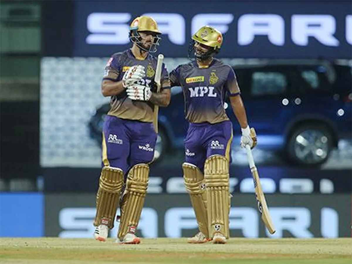 ipl-2021-nitish-rana-helps-kolkata-knight-riders-to-100-ipl-wins