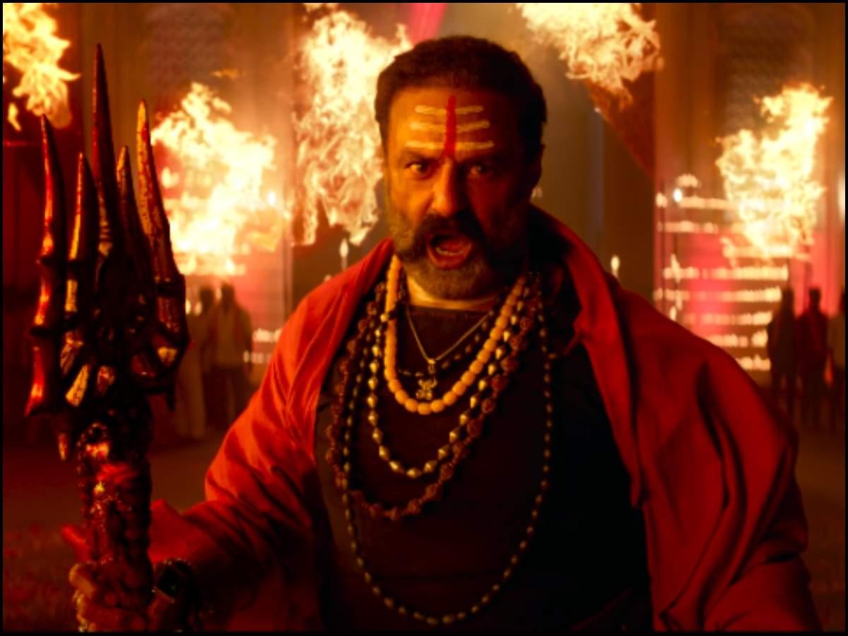 BB3 titled as 'Akhanda': Balakrishna roars as Aghori in Ugadi teaser    Telugu Movie News - Times of India